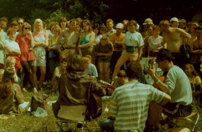 Белая Гвардия на Грушинском (1993)